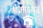 Mortgage business concept — Stock Photo