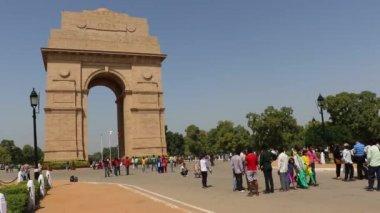 India Gate, New Delhi, India — Stock Video