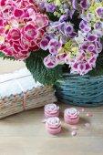 Hydrangea macrophylla (hortensia flower) — Stock Photo