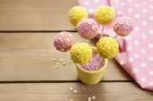 How to decorate cake pops - step by step tutorial — Stock Photo