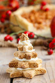 Gingerbread christmas trees.  — Stock Photo