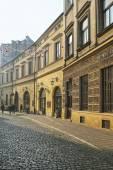 Bracka street in early morning light, Krakow, Poland. — Stock Photo
