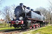 Steam locomotive, Wieliczka, Poland — Stock Photo