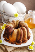 Easter cake with honey — Stock Photo