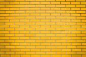 Yellow brick wall — Stock Photo