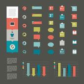 Infographic set elements. — Stock Vector