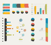 Set of infographics templates. — Stockvektor