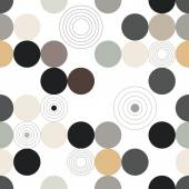 Circle pattern. Modern stylish texture. Repeating spiral abstract background for wallpaper. — Wektor stockowy