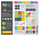 Infographics set elements. Collection of charts, diagrams, schemes, speech bubbles. Vector. — Stock Vector