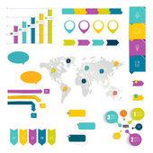 Flowchart diagram, scheme. Infographic element. — Stock Vector