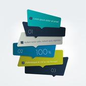 Harmonogram, karta, baner, wykresu, szablon. Wektor minimalistyczny projekt infographic. — Wektor stockowy