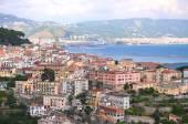Picturesque landscape of vietri sul mare on amalfi coast in Italy — Stockfoto