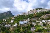 Scenic view of village raito on amalfi coast in Italy — Stockfoto