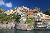 Picturesque view of village Positano, Italy — Stock Photo