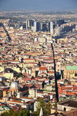 Malebné letní panorama z neapole, itálie — Stock fotografie