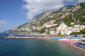 Picturesque view of summer resort  Amalfi, Italy — Foto de Stock