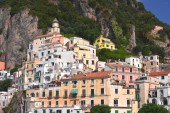 Picturesque view of summer resort  Amalfi, Italy — Foto Stock