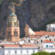 Beautifully decorated saint Andrew cathedral in Amalfi, Campania in Italy — Stock Photo #54998767