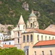 Beautifully decorated saint Andrew cathedral in Amalfi, Campania in Italy — Stock Photo #54998777