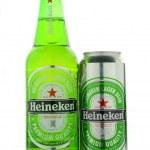 ������, ������: Heineken lager beer isolated on white background