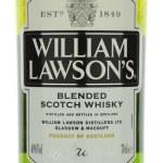 William Lawsons whisky isolated on white background. — Stock Photo #72535839