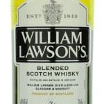 William Lawsons whisky isolated on white background. — Stock Photo #72535841