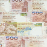 Hong Kong dollars background — Stock Photo #55741499