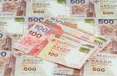 Hong Kong dollars background — Stock Photo