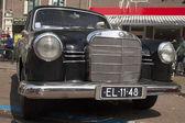 Vintage german mercedes 190 — Stok fotoğraf