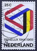 Vintage postage stamp. — Stock Photo