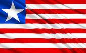 Flag of Liberia — Stock Photo