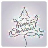 クリスマスのグリーティング カード — ストックベクタ
