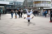 Breakdancer in Berlin — Stock Photo