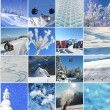 Collage - Winter Happiness — Stock Photo #52350865