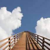 Bridge into heaven — 图库照片