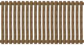 Wooden paling fence — Stock Photo