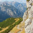 Rocky hiking trail in the austrian alps — Stock Photo #54969599