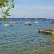 Idyll at starnberg lake, bavaria — Stock Photo #66470839