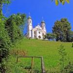 Bavarian monastery on calvary hill, bad tolz, bavaria — Stock Photo #66471275