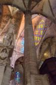 Mallorca gotische Kathedrale Le Seu — Stockfoto