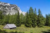 Typische berglandschap — Stockfoto