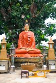 NAKORNPRATOM THAILAND - OCTOBER 23 :Buddha in temple on Oct 23 2 — Stock Photo