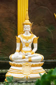 Angle statue in temple of Thailand — Stockfoto