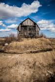 Old Abandoned Barn — Stock Photo