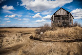 Old Abandoned Barn — Stock Photo
