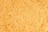 Extreme Closeup of Mustard Powder texture — Stock Photo
