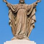 Outdoor Statue of Jesus — Stock Photo #54347827