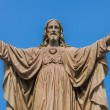 Outdoor Statue of Jesus — Stockfoto #54389733