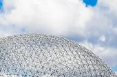 Montreal Biosphere Structure details — Stock Photo