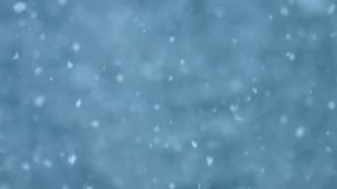 Abstract Snowstorm Background — Wideo stockowe